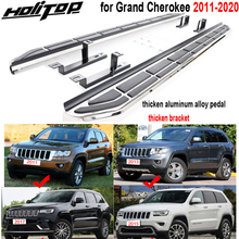 new arrival side step running board side pedals for Jeep Grand Cherokee 2011 2020,thicken bracket,excellent powerful loading.