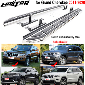 Image 1 - new arrival side step running board side pedals for Jeep Grand Cherokee 2011 2020,thicken bracket,excellent powerful loading.