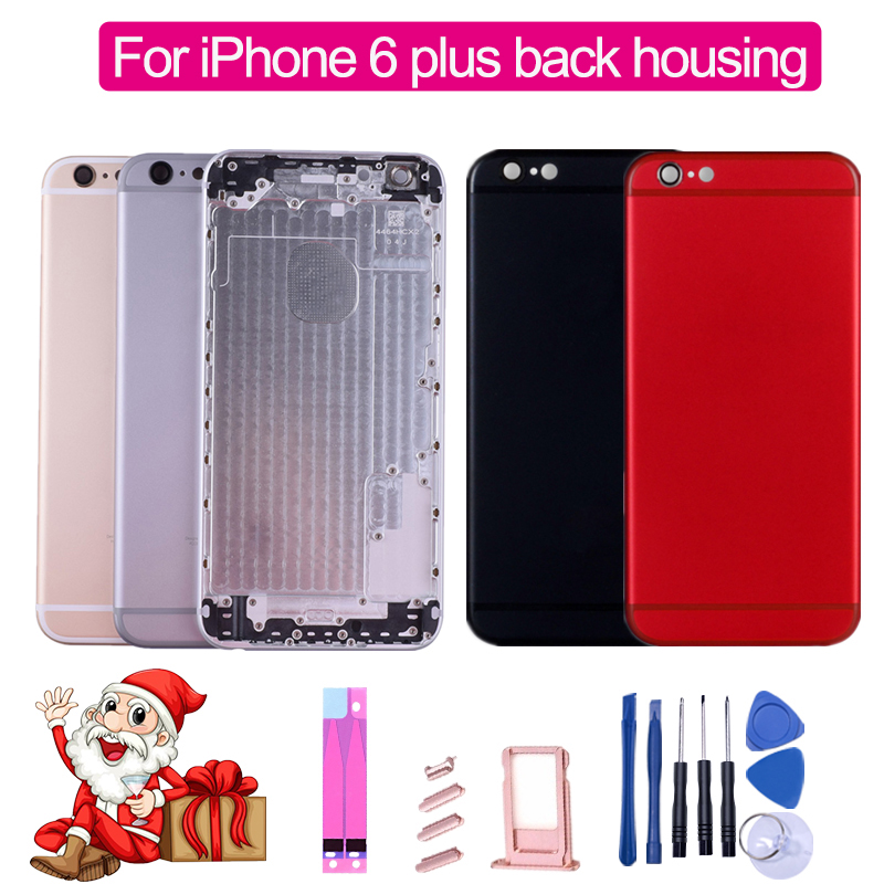 Housing Sticker iPhone Chassis Battery-Cover Middle-Frame IMEI Back for Rear-Door-Case