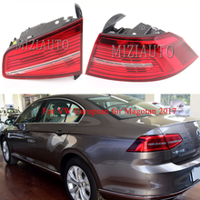 For VW European for Magotan 2017 year Rear Tail light turn signal taillights assembly Brake Light Bumper