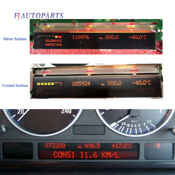 Instrument Cluster LCD Screen Display For BMW X5 E53 E38 E39(-2003) Dashboard Pixel Repair image