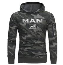 High Quality 2019 Brand Camo Men MAN Truck Car Brand Logo man Coat SCANIA Hoodies & Sweatshirts Hoodies Camo Jacket Coat(China)