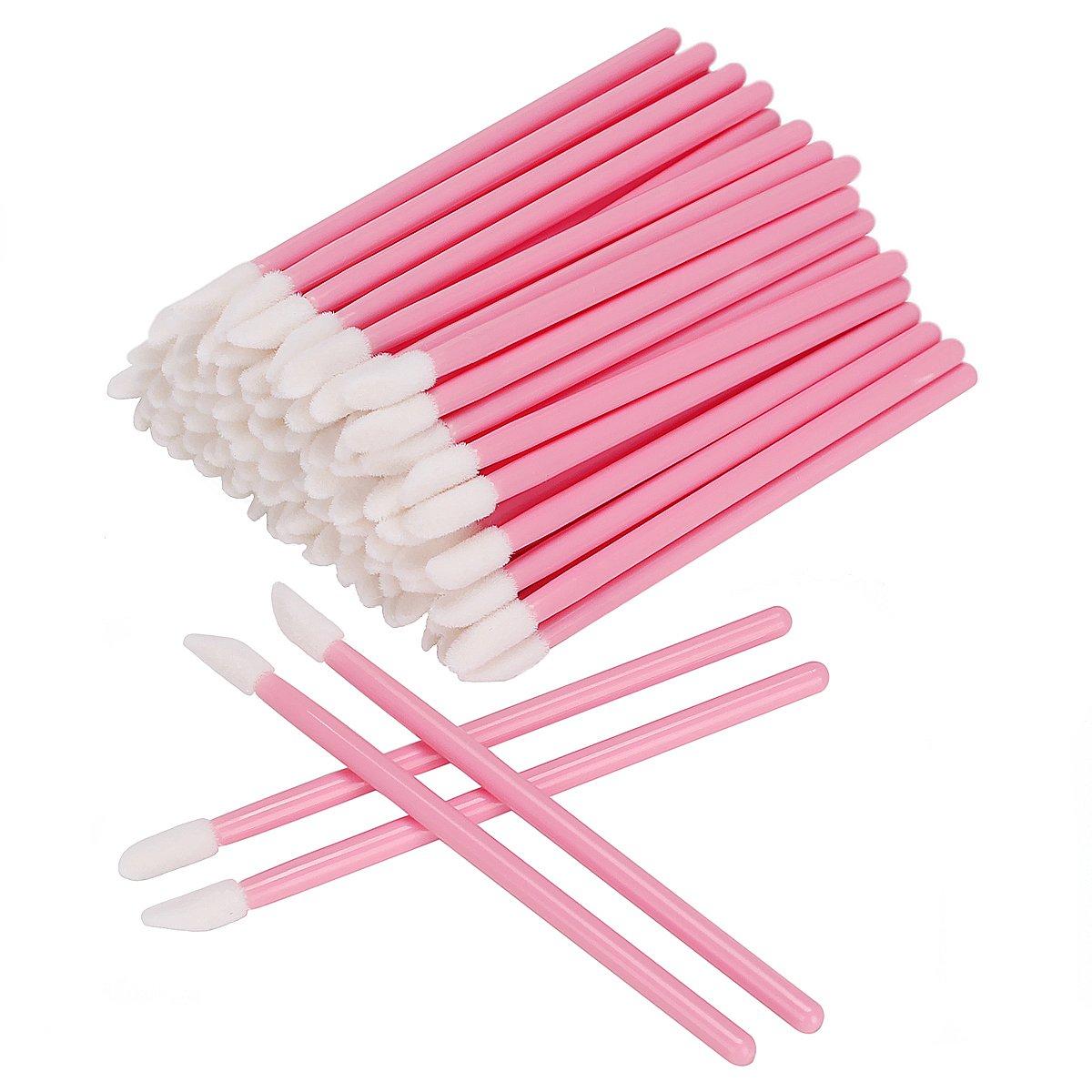 50/100 шт одноразовые макияж кисть для губной помады тушь для ресниц палочки аппликаторы для ресниц тени, блеск для губ кисти косметические ин...