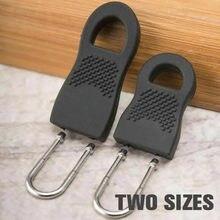 16 pçs destacável zíper extrator zíper substituição zíper tags zip fixer para slider cabeça kits de reparo instantâneo zíperes fixer