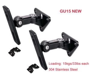 Image 1 - (1 ペア) GU15 新ユニバーサル 304 ステンレス鋼合金サウンドスピーカー壁ブラケットマウントスタンドハンガー負荷 15 キロ 33lbs