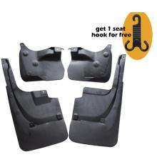Set Molded Mud Flaps Mudflaps Splash Guards Front Rear Mud Flap Mudguards Fender YC10107 set for chevrolet silverdo 2007 2011 molded mud flaps mudflaps splash guards front rear mud flap mudguards fender yc101072