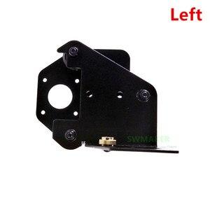 Image 3 - Creality CR 10 S4/S5 support de moteur pour imprimantes 3D, plaque de montage de moteur pour axes X droit/gauche/arrière avec roues, écrous