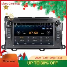 Für Toyota Sienna 2009-2016 Android 10,0 64G Auto DVD Player GPS Navigation Multimedia Player Auto Radio Band recorder Kopf einheit