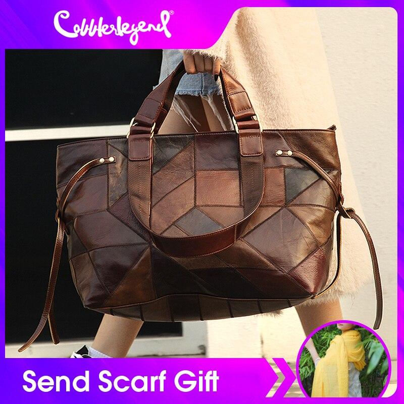 Cobbler Legend большая сумка для женщин 2020 натуральная кожа сумка на плечо винтажная модная женская роскошная сумка сумки дизайнерские новые сумк