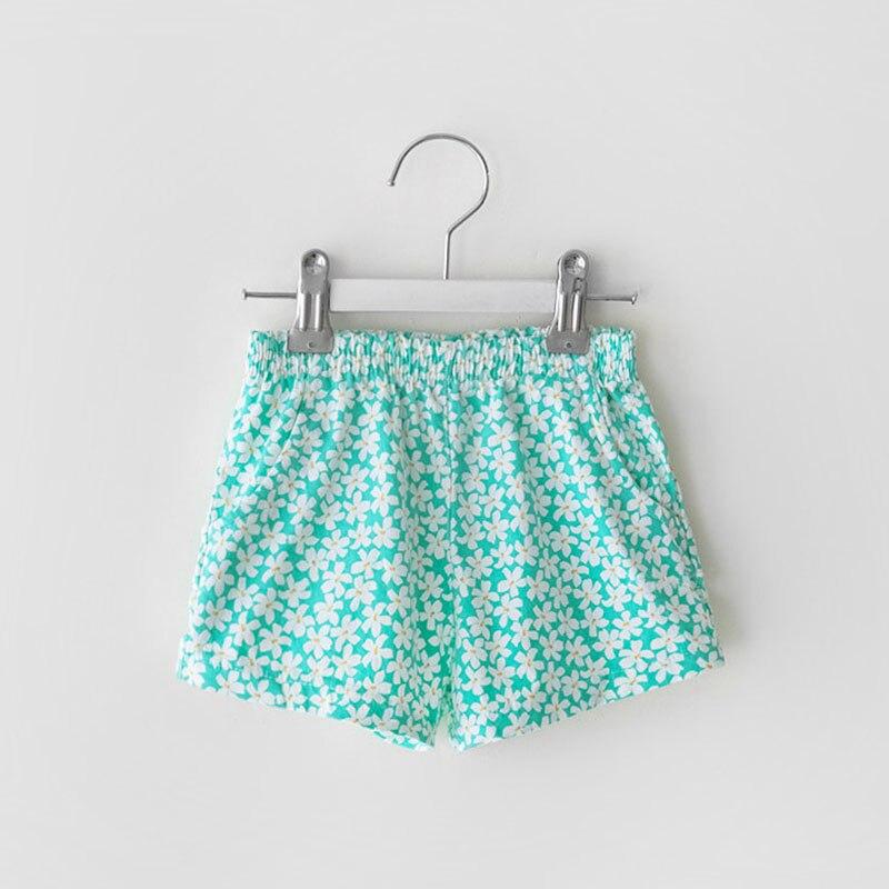 MILANCEL 2021 letnie nowe spodenki dla dzieci kwiecista z bawełny spodnie Casual Outwears dla chłopców i dziewcząt
