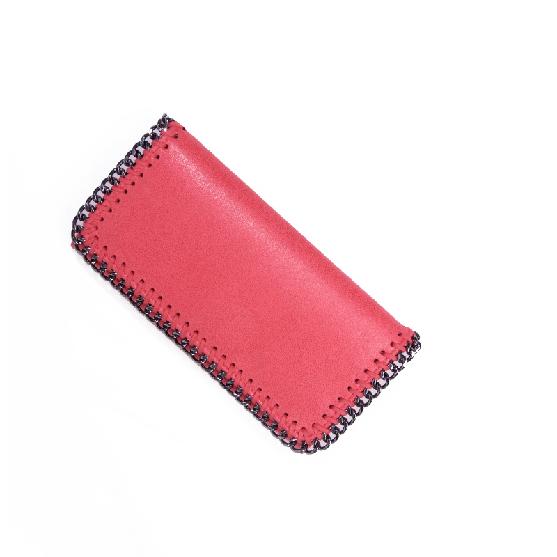 Women Long Wallet Chains Standard Wallets Women Mini Purses Money Card Purse Multifunction Handbags Ladies Hand Bags PU Leather