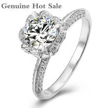 Женское Обручальное кольцо с муассанитом 65 мм