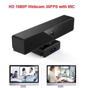 Image 2 - Cámara web 4K HD Pro, 1080P, enfoque automático, Full HD, vídeo de llamada panorámica y grabación, versión actualizada