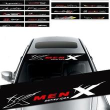 Car Front Rear Sunshade Window Decal Sticker For Renault Megane 2 Duster Clio Honda Civic Fit VW touareg mk7 MK5 Mazda 3 6 CX5