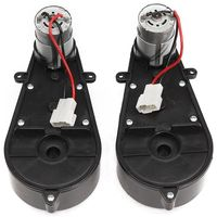 2 Pcs 550 Universal Children Electric Car Gearbox With Motor  12Vdc Motor With Gear Box  Kids Ride On Car Baby Car Parts
