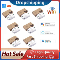 10A WiFi Smart Switch Timer DIY Wireless Switches Smart Home Automation Compatible With Tuya Alexa Google Home Automation Module 1