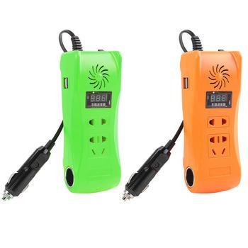 200W Мощность инвертор превосходным мастерством и долговечность DC 12V 24V дo AC 220 В Модифицированная синус волна с USB Зарядное устройство