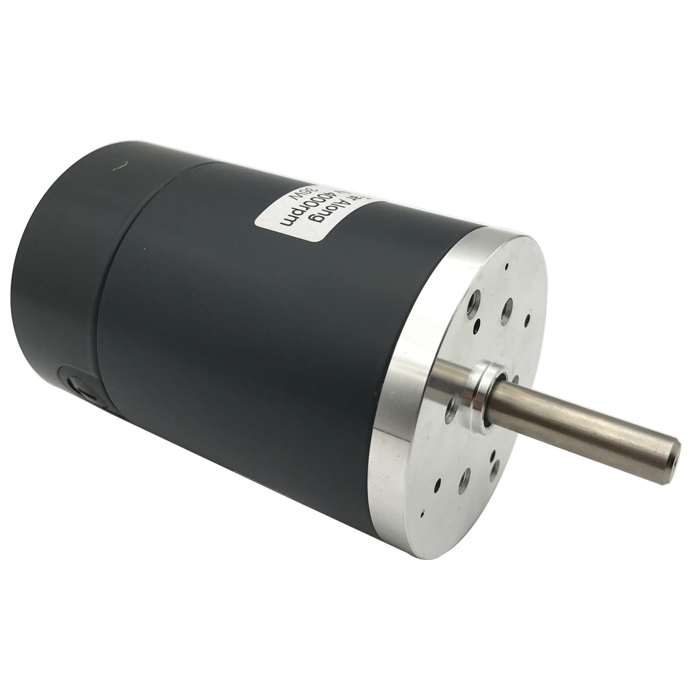 DC Motor 12V 24V Speed Reduction Reversible Electric Gear Motor High Speed Low Noise with Diameter 50mm for DIY Generator