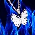 Ожерелье с подвеской-бабочкой в стиле Харадзюку, цепочка унисекс из титановой нержавеющей стали в стиле хип-хоп, рок, Подарочная бижутерия д...