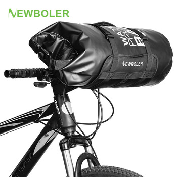 Bike Front Tube Bag Waterproof Bicycle Handlebar Basket Pack 3L/7L/10L/15L/20L Cycling Front Frame Pannier Bicycle Accessories