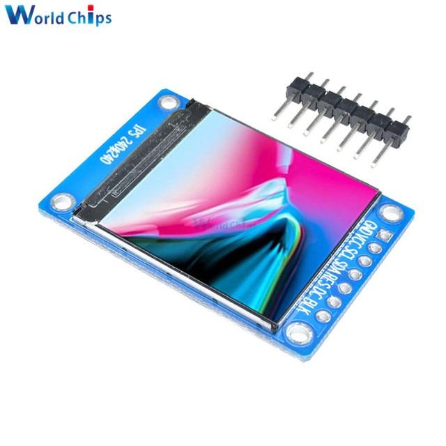 1.3 pollici IPS HD TFT ST7789 Unità IC 240*240 La Comunicazione SPI 3.3V di Tensione 4 Wire SPI interfaccia LCD A Colori OLED Display FAI DA TE