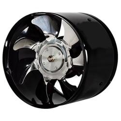 6 Cal szybki wentylator wyciągowy kanał w linii ekstraktor kuchenny metalowy wentylator toaletowy wentylator przemysłowy 220V w Wentylatory wyciągowe od AGD na