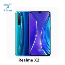 REALME X2 ĐTDĐ 6.4Inch Super AMOLED Màn Hình Snapdragon 730G 64MP Quad Camera Điện Thoại Thông Minh NFC VOOC 30W Nhanh sạc MobliePhone