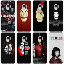 Money Heist House of Paper Case For Samsung Galaxy A50 A30 A5 A7 A9 A8 A6 Plus 2018 A3 A40 A70 Note 8 9 4 Accessories TPU Coque(China)