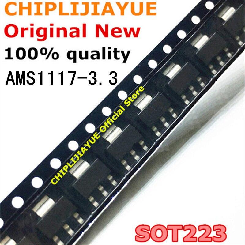 50 шт. AMS1117-3.3 AMS1117 3,3 V 1A SOT-223 SOT223 SOT SMD новый и оригинальный чипсет IC