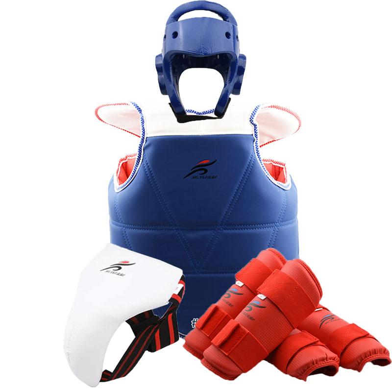 Hochwertig Itf Taekwondo Sparring Bremsbeläge für Kopf,Hände,Arme,Fuß,Shins