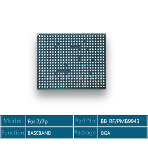 Image 2 - 5 قطعة/الوحدة 9943 BB_RF ل فون 7/7 زائد القاعدي وحدة المعالجة المركزية IC رقاقة ل إنتل النسخة