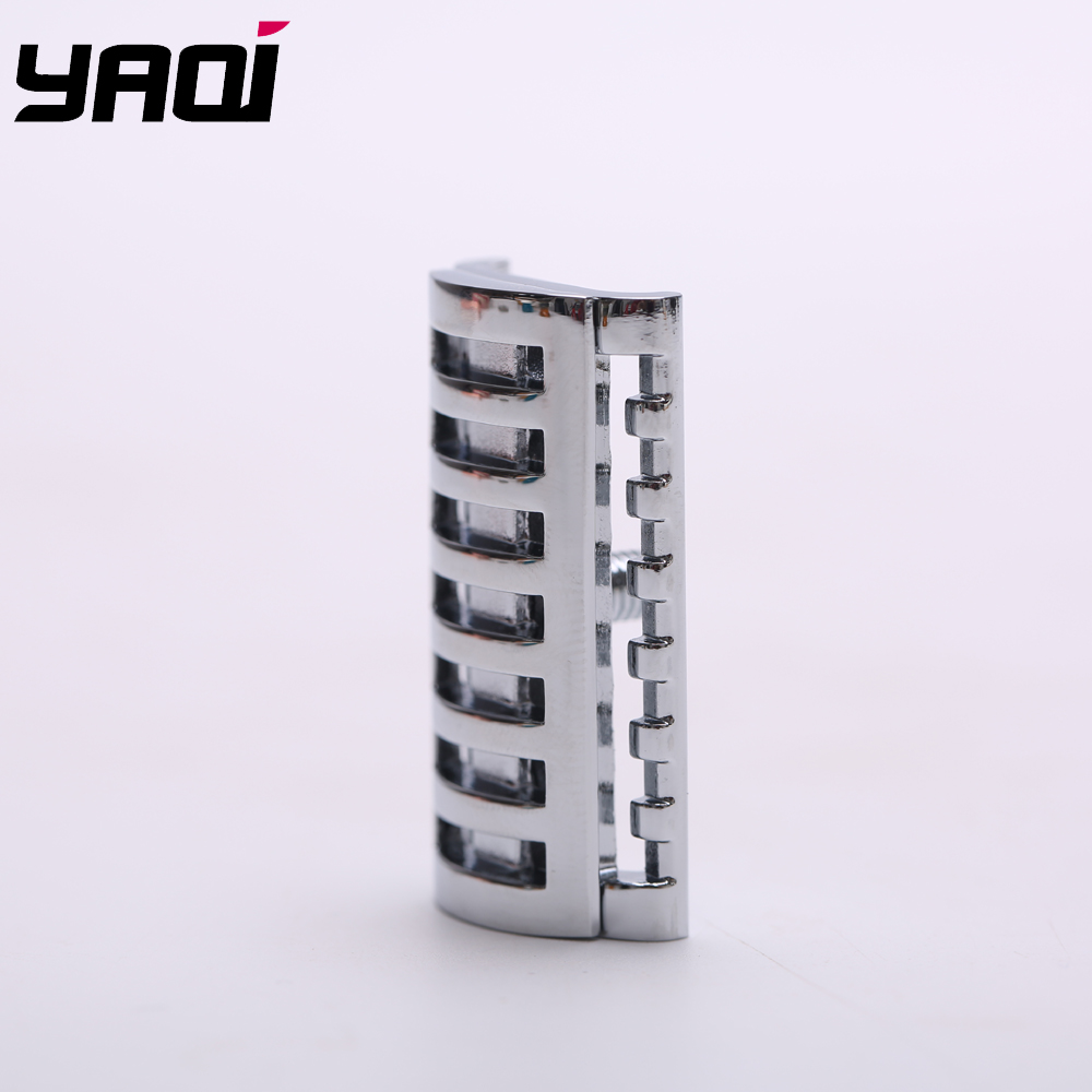 Yaqi Chrome Color  KNIGHT-HELMET Safety Razor Head  For Shaving Razors