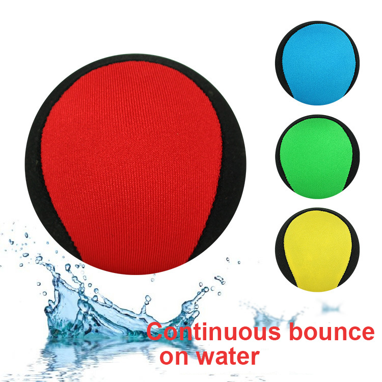 5.5CM Water Playing Bouncing On Water Toy Ball Parents Kids Beach Ball Adult Toys