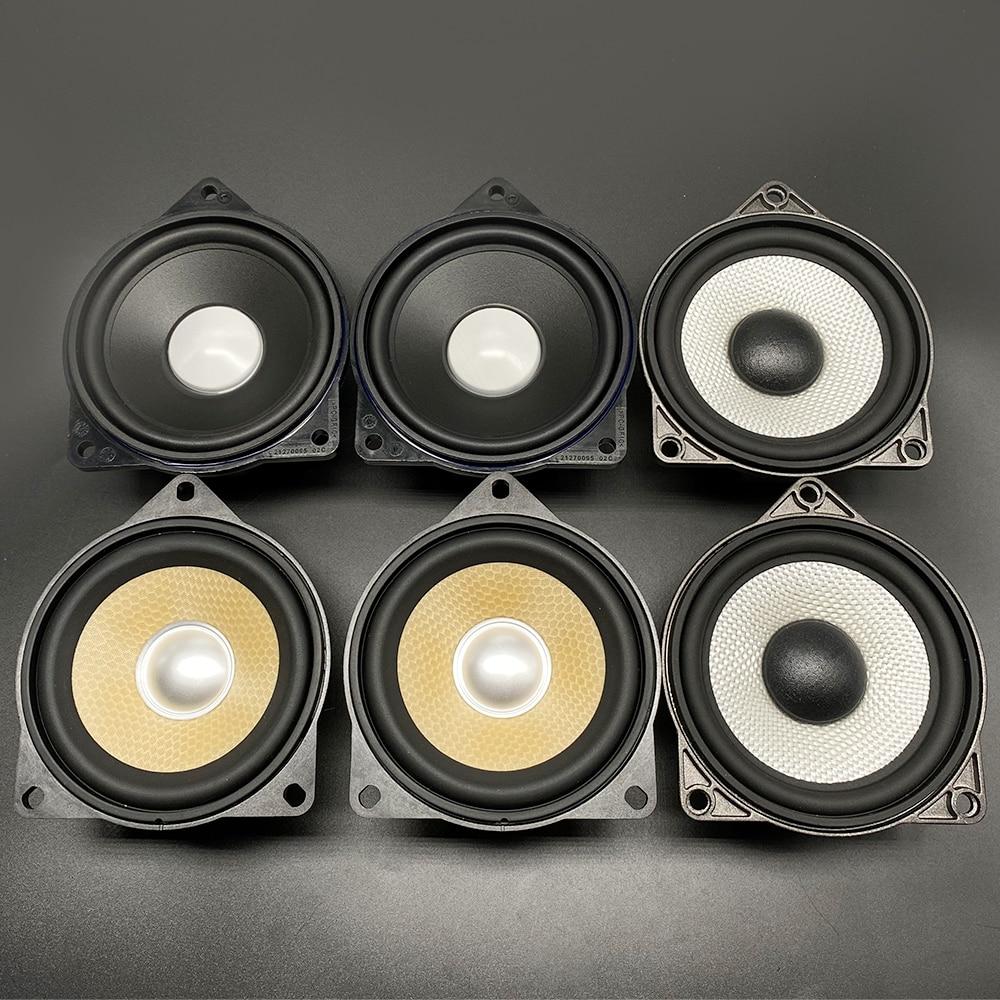 4 Inch Midrange Speaker Upgrade For Bmw F10 F11 F30 F32 F34 F01 F02 E90 E60 3 5 7 Series Car Dashboard High Quality Audio Multi-tone & Claxon Horns  - AliExpress
