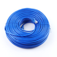 2019 10m/20m 30m 8Pin Connector Ethernet Internet Network Cable Cord Wire Line Blue Rj 45 Lan