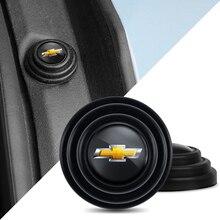 4Pcs רכב דלת מתג הלם קליטת כרית מדבקות עבור שברולט Lacetti אקווינוקס פורץ הדרך בורג סילברדו טאהו Z71 Aveo
