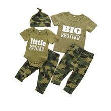 Conjunto de roupas infantis pudcoco, conjunto de roupas para meninos e meninas, infantil, macacão de manga curta, 3 peças roupas de verão, roupa