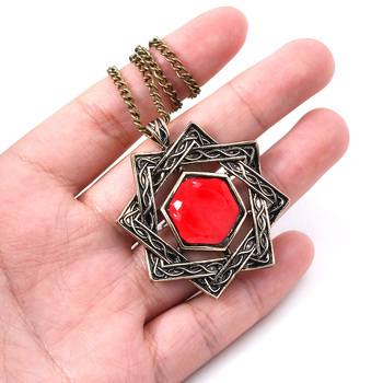 The Elder Scrolls 5 Necklace Amulet of Mara Arkay Morrowind Pendant Necklace for Women Men Choker Jewelry image
