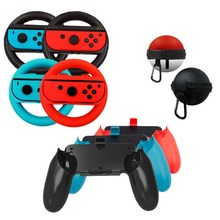 2Set Left+Right Joy-Con Controller Grips cover Case For Nintendo Switch NS Game Handle case tation Steering Wheel accessories