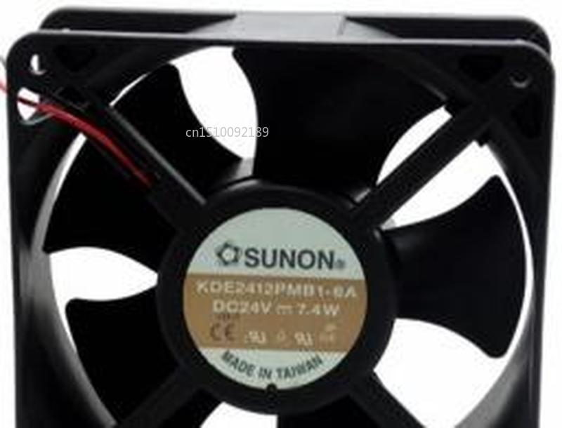 For SUNON KDE2412PMB1-6A 12038 24V 6.7W 12CM Siemens Inverter Fan Cooling Fan Free Shipping
