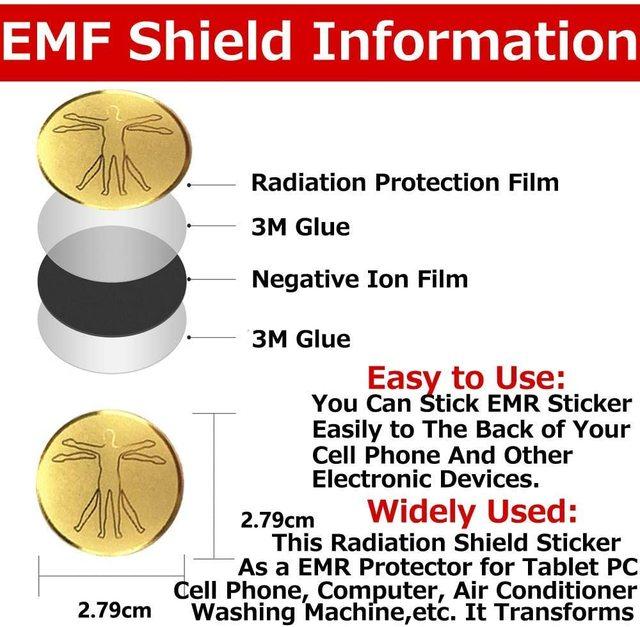 Anti radiation protector shield em