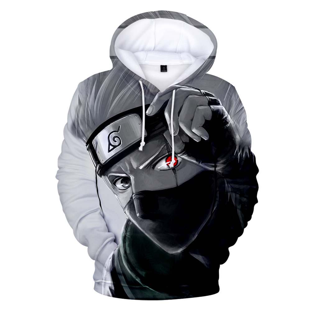 Prowow Naruto Hoodies Boys Sweatshirts Children's Tops Naruto Anime Streetwear 3D Print Casual Hip Hop Hoodies Child Pullover