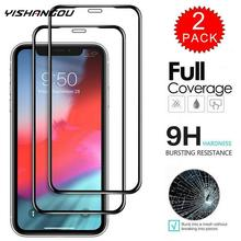 YISHANGOU Full Cover 10D Tempered Glass Screen Protector For