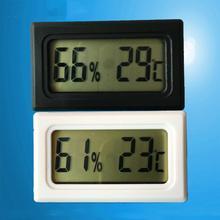 Портативный мини с ЖК-дисплеем Цифровой термометр гигрометр инструменты для измерения влажности