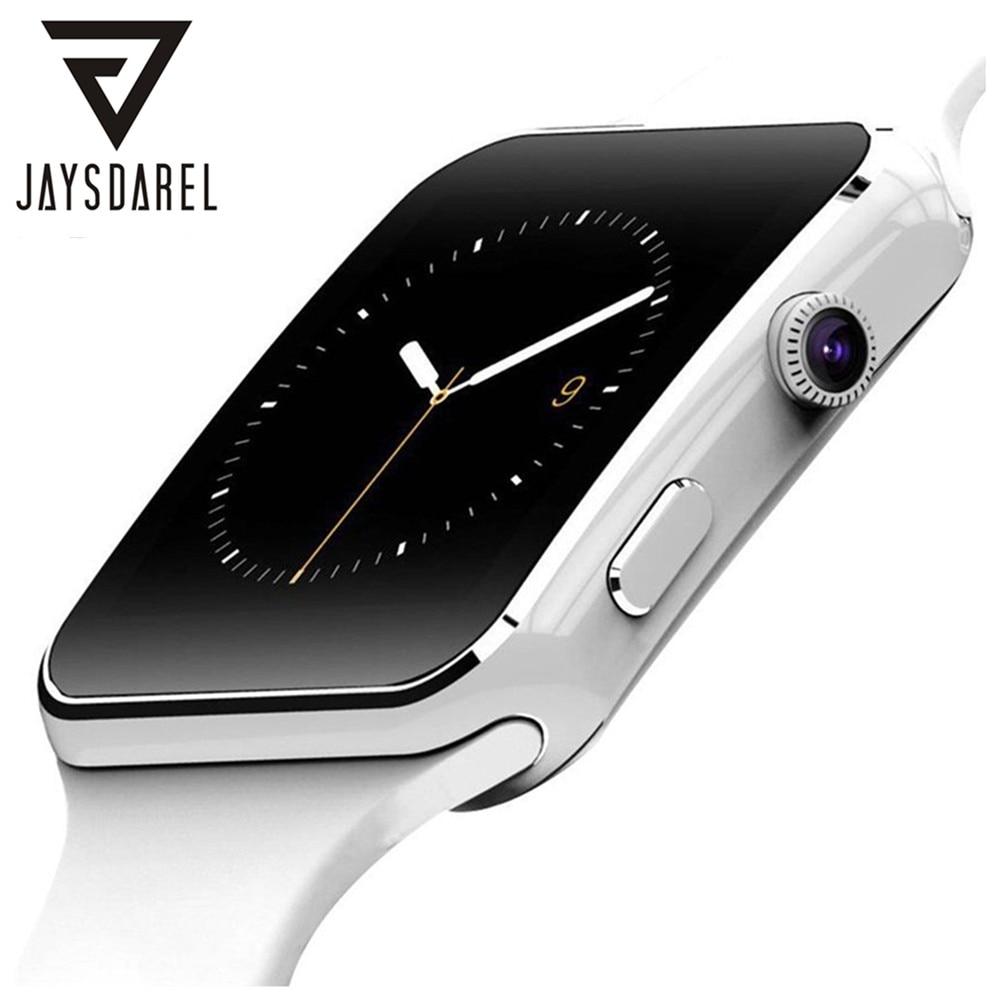 JAYSDAREL X6 Bluetooth Smart Watch Support Sim Card HD Camera Whatsapp Curved Screen