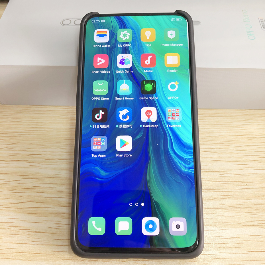 Official Original Oppo Reno 10X Zoom Mobile phone Snapdragon 855 Octa Core 6.6inch AMOLED 48MP Camera 4065Mah SupperVOOC3.0 NFC