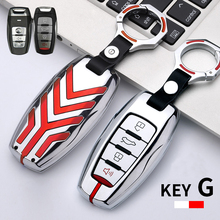 Metal Car Key Shell Cover Case Keychain Key Holder For Great Wall HAVAL Hover GMW H1 H2 H5 H6 H7 H8 H4 H9 F5 F7 H2S C50 Coupe недорого