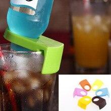 3 PC plastikowe wino barowe akcesoria kuchenne koktajl butelka klamra piwo Snap Drink w barze klipy uchwyty na butelki narzędzia kuchenne 6 kolorów