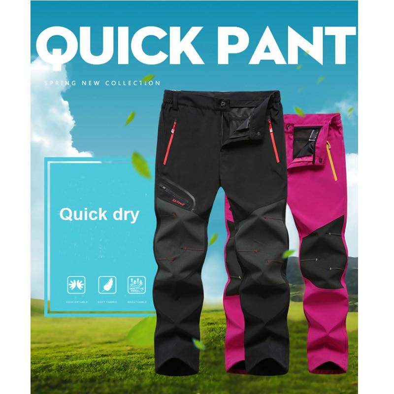 Waterproof Trekking Hiking Pants Men Softshell Fishing Camping Climb Ski tactical Trousers Summer Winter Breathable Outdoor Pant