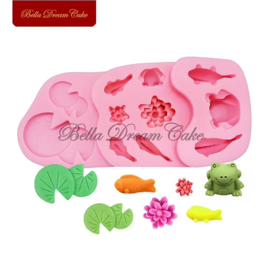 Paraguas Molde de Silicona 60 mm Fondant pastel decorar Polímero Arcilla sugarpaste